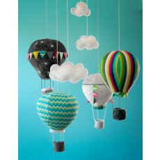 Craft Schmaft Hot Air Balloon Mobile Pattern Follow this beautifully packaged pattern to create your own adorable hot air balloon mobilePattern includes complete instructions diagrams and material list for making a balloon mobilePatter. Please Click the image for more information.
