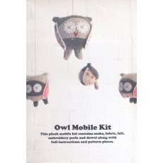 Craft Schmaft Owl Mobile Kit Olive & Natural with Red  A gorgeous gift for a newborn or childCreate your own sweet Sock Owl Mobile with this deluxe kit Desi. Please Click the image for more information.