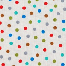 Bungle Jungle Dot Grey This sweet  colourful confetti dot is a fabulous coordinate for the Bungle Jungle fabric collection or use alone in many a dotty project Please Click the image for more information.
