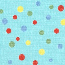 Spots Multi on Blue
