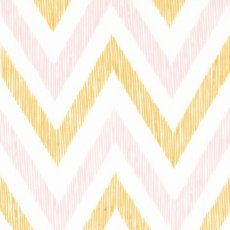 Simpatico Chevron Peachy Simpatico chevron is a fabulous sketchy chevron stripe that forms part of the new 100 organic cotton collection by Michelle Engel Bencsko for Cloud 9 Fabrics. Please Click the image for more information.