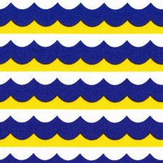 Seven Seas High Seas Blue &amp; Yellow Organic Cotton
