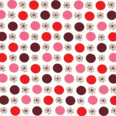 Flea Market Fancy Legacy Flower &amp; Dot Red