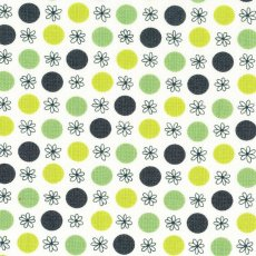 Flea Market Fancy Legacy Flower &amp; Dot Green