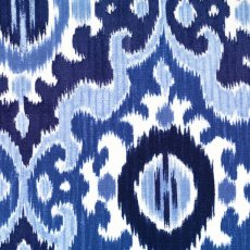 Dear Stella Ikat Diamond Linen Blue A contemporary ikat fabric design printed on a wide width linen blend A lovely weight and scale for wall art cushions linen lampshades aprons bags curtains and upholstery. Please Click the image for more information.