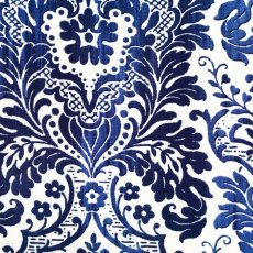 Dear Stella Damask Linen Blue A contemporary damask fabric design printed on a wide width linen blend A lovely weight and scale for wall art cushions linen lampshades aprons bags curtains and upholstery. Please Click the image for more information.