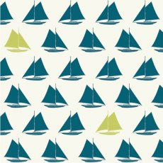 Set Sail Sailboats Teal Organic Cotton Set Sail by JayCyn is a modern nauticalthemed collection for your little ones Please Click the image for more information.