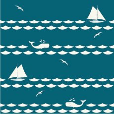Set Sail Sailboats & Whales Teal Organic Cotton Set Sail by JayCyn is a modern nauticalthemed collection for your little ones Please Click the image for more information.