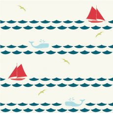 Set Sail Sailboats & Whales Cream Organic Cotton Set Sail by JayCyn is a modern nauticalthemed collection for your little ones Please Click the image for more information.