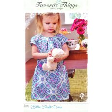 Favorite Things Little Shift Dress Favorite Things Little Shift Dress is a cute dress with pleated front puffed sleeves and bias sleeve and neck trim . Please Click the image for more information.