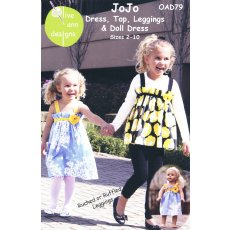 Olive Ann JoJo Dress, Top & Leggings  Playful and fun these outfits are easy to make and wear The Olive Ann JoJo dress has inseam pockets and both dress and top have an adorable flower detail T. Please Click the image for more information.