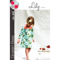 Green Bee Lily Dress The Green Bee Lily Dress features a sweet scallop edged contrast yoke It wears well year round with a sleeveless or long sleeved option. Please Click the image for more information.