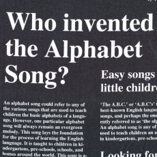 Alphabet News Black A great newsy read of the origins of the Alphabet This unique fabric would make fab wall art journals quirky cushions etc. Please Click the image for more information.