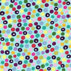 Alexander Henry Market Dot Aqua A fabulous Alexander Henry small scale spot to use by itself or coordinate with many of the Alexander Henry fabric ranges. Please Click the image for more information.