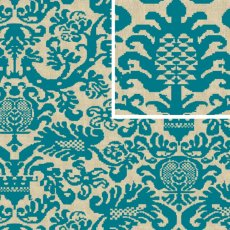 Alchemy Fanfare Peacock Wide Width Decorator