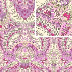 Alchemy  Flora Berry Sateen Bliss Wide Width 