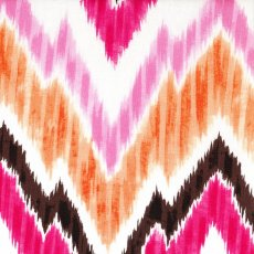 Dear Stella Kallianthi Flamestitch Pink Dear Stella Kallianthi Flamestitch is a mix of our two most popular designs this season ikat and chevron . Please Click the image for more information.