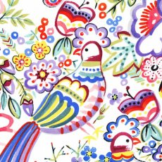 Alexander Henry Talavera Garden Multi Talavera Garden by Alexander Henry is a bright and fun design of birds and flowers Talavera appears as though it has just been freshly painted onto the fabric with its magnificent brushstroke effects. Please Click the image for more information.
