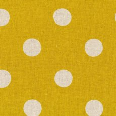 Echino Maruco Large Polka Mustard Echino Maruco is an extra large polka dot design printed on a beautiful medium weight cottonlinen blend A. Please Click the image for more information.