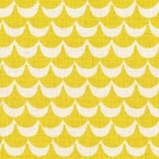 Stamped Waves Yellow Stamped is a collection of fabrics by Ellen Luckett Baker for Kokka This collection is inspired by the blockprint look and being printed on a medium weight linen blend this fabric will definately make a statement in the home as cushions or lampshades or whip up a striking bag or skirt Please Click the image for more information.