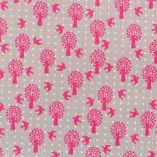Birds & Trees Pinwale Corduroy This design is printed on a lovely soft fine pinwale corduroy suitable for all seasons Sew into adorable girls skirts pinafores pants overalls jackets or decorate a nursery or bedroom with the addition of a covered pinboard bean bag cushion or quilt Please Click the image for more information.