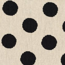Hokkoh Spot Black Linen Blend Home decorating weight largerscale spot printed on a cottonlinen blend Suitable for lampshades cushions bags midweight skirts and many other craft and sewing projects. Please Click the image for more information.