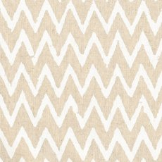 Hokkoh Chevron White on Natural Linen Blend Home decorating weight chevron stripe printed on a cottonlinen blend Suitable for lampshades cushions bags midweight skirts and many other craft and sewing projects. Please Click the image for more information.