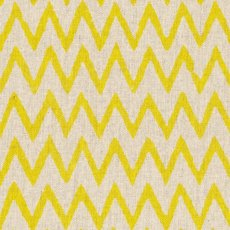 Hokkoh Chevron Yellow on Natural Linen Blend Home decorating weight chevron stripe printed on a cottonlinen blend Suitable for lampshades cushions bags midweight skirts and many other craft and sewing projects. Please Click the image for more information.