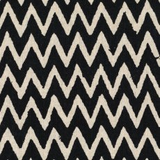 Hokkoh Chevron Black on Natural Linen Blend Home decorating weight chevron stripe printed on a cottonlinen blend Suitable for lampshades cushions bags midweight skirts and many other craft and sewing projects. Please Click the image for more information.