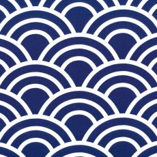 Bekko Swell Wide Width Navy Bekko Swell is a striking largerscale design printed on a lovely medium weight 100 cotton sateen Suitable for a variety of home decorating projects but also a lovely weight for linen quilting bag making and apparel. Please Click the image for more information.