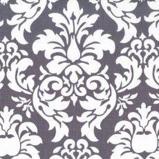 Dandy Damask Charcoal