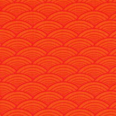 Lilyfield Arches Red on Orange Contemporary smallscale arches design perfect for quilting apparel and varied craft projects Please Click the image for more information.