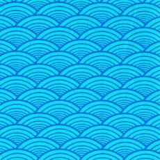Lilyfield Arches Royal on Turquoise Contemporary smallscale arches design perfect for quilting apparel and varied craft projects Please Click the image for more information.