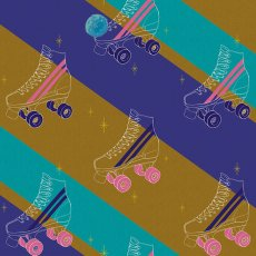 Ruby Star Sparkle Rollerskates Skate-A-Thon Royal & Turquoise Ruby Star Sparkle is a fabulous new collection by popular designer Melody Miller This funky rollerskate fabric is perfect for so many crafts and sewing projects Please Click the image for more information.