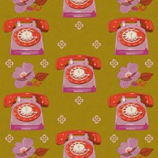 Ruby Star Sparkle Phones Go With Me Mustard Gold Ruby Star Sparkle is a fabulous new collection by popular designer Melody Miller This funky telephone fabric is perfect for so many crafts and sewing projects Please Click the image for more information.