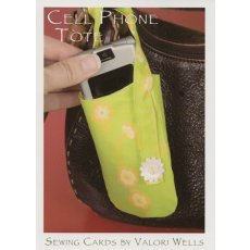 Cell Phone Tote - Sewing Card Does your mobile phone need a protective cover that is personalised with a great designer fabric Then this is the pattern for you . Please Click the image for more information.