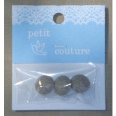 Petit Couture Linen Buttons These sweet little Petit Couture linen buttons are from Japan and would flatter any outfit or alternatively use as bag closures or for embellishing an applique. Please Click the image for more information.