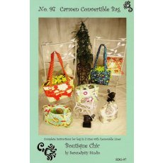 Serendipity Studio Carmen Convertable Bag A convertable bag What a great idea Just think when your ready to change your handbag you dont have to go through all the junk Just pull out the velcroed drawstring liner and put it on another bag and goOffered in two convenient sizes this is sure to be your next favourite bag Please Click the image for more information.