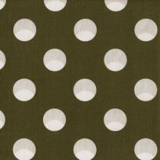 Kokka Polka Large Khaki