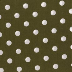 Kokka Polka Medium Khaki
