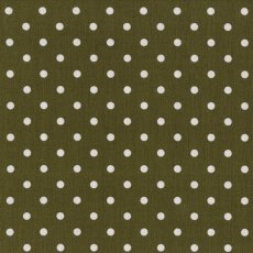 Kokka Polka Small Khaki