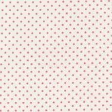 Sevenberry Tiny Dot Pink on White   Please Click the image for more information.