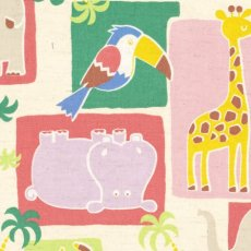 Jolis Copains Zoo Doo Pink Zoo Doo features all the cheeky animals at the zoo that children adore Perfect for nursery decor or childrens clothing and applique. Please Click the image for more information.
