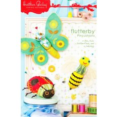 Heather Bailey Flutterby Pincushion Fly away home to sew sew sew With adorable Flutterby pincushions to keep you company youll stitch up a swarm of beautiful things  four designs included Make . Please Click the image for more information.