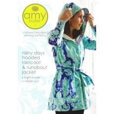 Amy Butler Rainy Days Hooded Raincoat Amy Butler Rainy Days Hooded Raincoat  Runabout JacketBrighten a rainy day with these sweet jacket designs  in laminated fabric for a lightweight lined raincoat or in home dec fabric for a sunny day runaboat With tw. Please Click the image for more information.