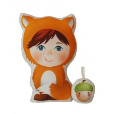 Sweetie Petite Freddie This adorable Sweetie Petite doll kit contains all you need to make Freddie and his cute little acorn friend printed fabric panels stuffing ribbon loops and sewing instructions Ea. Please Click the image for more information.
