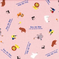 Eau de Mer Circus Animals Pink