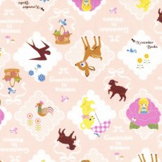 November Books Diamond Pink Geschichte is german for story November Books is a charming fable on fabric and features adorable animals iinside scallopededged diamonds. Please Click the image for more information.