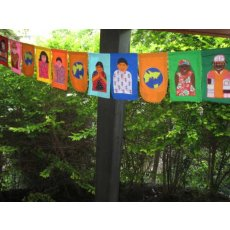 Multicultural World Bunting A brilliant multicultural bunting which makes a spectacular and meaningful impact wherever displayed. Please Click the image for more information.