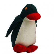 Penguin This beautiful Penguin is hand made in Sri Lanka from a fair trade groupI am black white and have long soft red flippers As y. Please Click the image for more information.